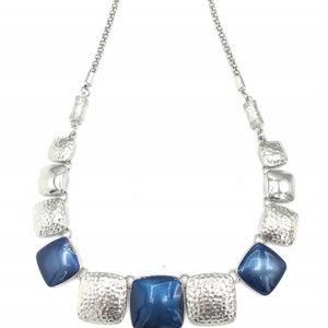 Blue Fashion Necklace (A99) 1172